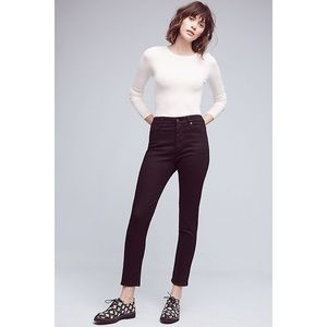High-rise Stevie Ankle AG jeans